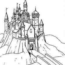 Animaux Coloriage Chateau De Princesse Coloriage Chateau Princesse