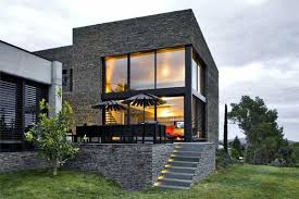 Modern Home Integrated In Its Surroundings: Mont-rs Residence