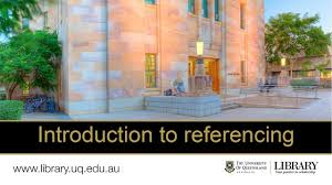 Referencing Style Guides Library University Of Queensland