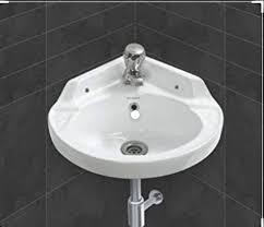 sterling ceramic wash basin 18x12 for