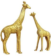 Small Picture Buy ITOS365 Show Pieces for Living Room Brass Giraffe Statue in