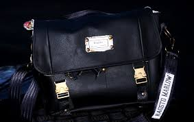 black leather satchel as made for bbc money for nothing customise yours here