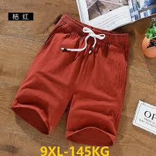 <b>MFERLIER summer men's</b> casual cargo Shorts pocket cotton plus ...