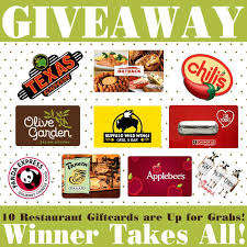 restaurant gift cards via kara s party ideas karaspartyideas