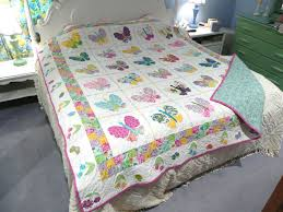 Butterfly Quilt I made one like this   quilts   Pinterest ... & Butterfly Quilt I made one like this Adamdwight.com