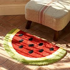 great half round rugs