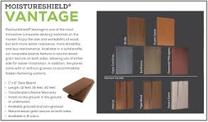 moisture shield decking. Interesting Shield The MoistureShield Pro Product Line Offers Additional Protection And  Durability For Your Composite Deck Design For Moisture Shield Decking