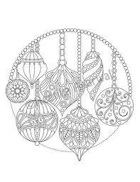 You can print or download them to color and offer them to your family and friends. 4 Ornament Coloring Pages Coworksheets