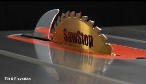 sawstop logo. click and drag to rotate sawstop logo