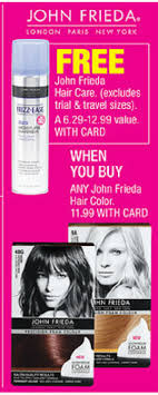 Get the best deals on john frieda permanent hair colouring. Upcoming John Frieda Deal At Cvs Or Rite Aid Deal In May With 5 1 Hair Color Addictedtosaving Com