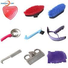 <b>Horse Supplies Cleaning Set</b> Equestrian Sweet Scraper Comb ...