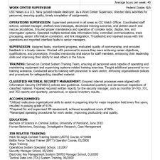 Military To Civilian Resume Template Military Resume Job Description Therpgmovie 50