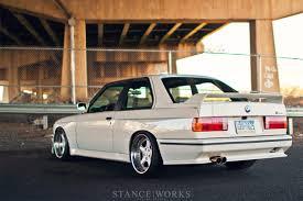 Sport Series bmw e30 m3 : Stance Works - George Voutsinos's BMW E30 M3
