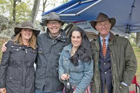 Alison and Peter Leonard Morgan with Denise McGovern and Kurt Abendschein.  – Middleburg Life