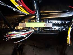 356 porsche technical articles installing a wiring harness part i the bar you see in the photo is a piece of lightweight tube steel i use it to anchor the harness and to help flatten it so that when the fuse block