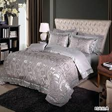 silver bedding set free fashion tribute silk silver bedding comforter set with palace style bed silver bedding set