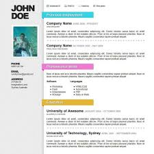 Free Colorful Resume Templates Best 100 Best Resume Format Ideas On Pinterest Top Resume Template 69