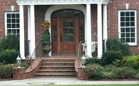 Front porch cost calculator Patio Front Porch Cost Estimator Brick Front House Cost Porch Step With Brick Finishing And Iron Handrail Furyckerinfo Front Porch Cost Estimator Exterior Remodel For 2018