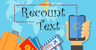 Image result for recount text