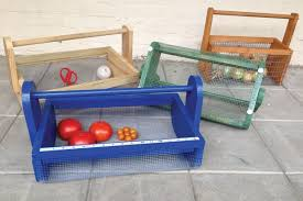 build a garden hod free instructions you will be able to hose off vegetables in the basket before you bring them in missouri gardener enewsletter