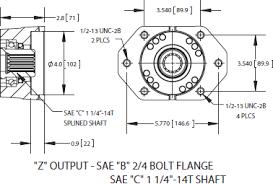 cs6 cs8 series power take off i output din 5462 ·