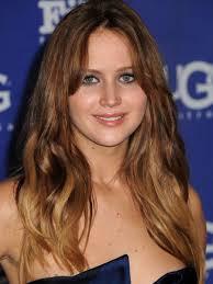 Jennifer Lawrence New Hair Style look jennifer lawrence cut her hair into a long wavy bob 5007 by stevesalt.us
