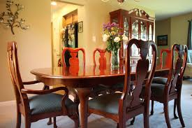 thomasville solid oak dining room set designs