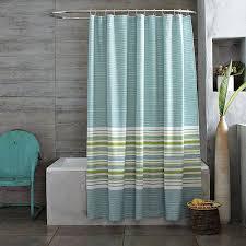 bathroom cute blue green shower curtain and striped shower curtains blue green