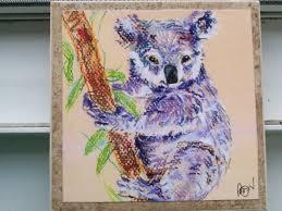 koala bear nozoo art tile ceramic koala
