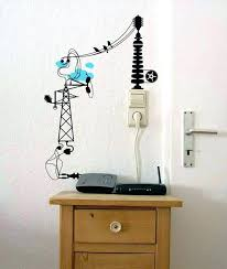 hide wires on floor creative ideas to hide the wires in the wall room amazing com