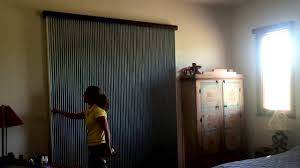 sliding door vertical blinds. Vertical Honeycomb Blinds For Sliding Door
