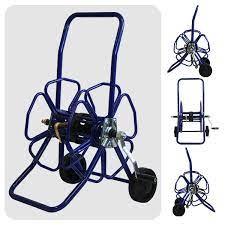 metal wheeled hose reel 100m minibore