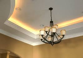 tray ceiling lighting rope.  Rope Rope Lighting Is The New Trend With Homeowners The Right Crown Molding And LED  Lights Give This Home A Cool Glow Httpwwwudecorcom On Tray Ceiling Lighting L