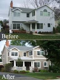 Exterior Home Remodeling Concept