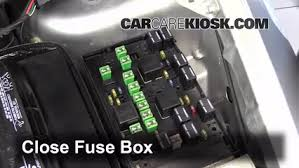 replace a fuse 2001 2004 dodge caravan 2003 dodge caravan se 3 3l  6 replace cover secure the cover and test component