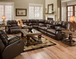 impressive on leather sectional recliner sofa with regarding couches recliners plans 16