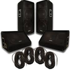 speakers 12. pair of dual 12\ speakers 12
