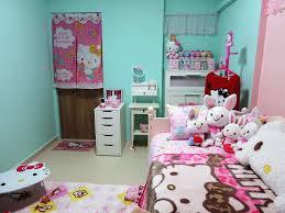 Image of: Hello Kitty Bedroom Set Twin