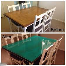 Epoxy Cabinet Paint Dining Table Makeover Diy Used Artists Oil Paint To Dye Epoxy