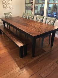 142 best benches images on solid wood furniture with regard to 7 foot dining table