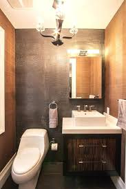 powder room tile bathroom wall tiles powder room contemporary with chandelier floating vanity mirror image by