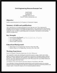 Resume Structural Engineer Resume