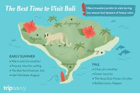 Bali Weather Seasons Chart The Best Time To Visit Bali
