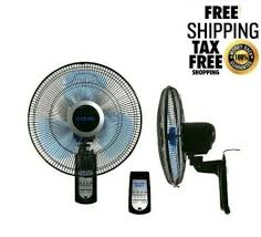 wall mount oscillating fan 14 inch