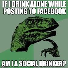 Social Drinking - Imgflip via Relatably.com