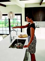 Moen Motionsense Kitchen Faucet Why Touch Your Kitchen Faucet When You Dont Have To Moen Expands