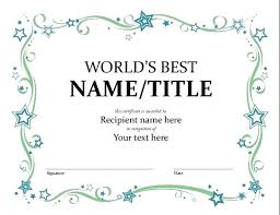 Printable Awards Templates Best Poser Award Funny Certificate Template Example Free