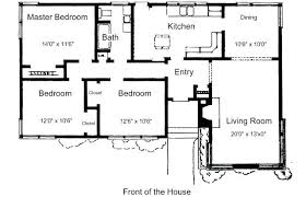 small floor plans. 3 Bedroom 1 Bath House Plans 7 Free Floor For Small Houses Click Any Image To