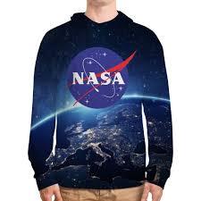 <b>Толстовка с полной</b> запечаткой NASA - <b>Printio</b>