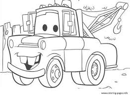 Small Picture Disney Cars Mater Coloring Pages Printable